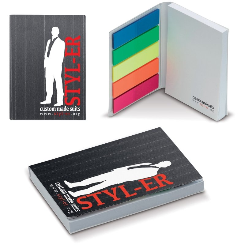 Set carnet cu post-it