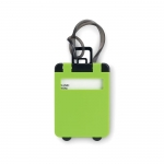miniature troler luggage tag