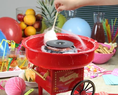 Masina de vata de zahar miniatura